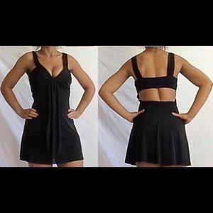Marciano Black Skater Dress